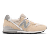New Balance Men's Made In US 996 - Tan with White - Profile