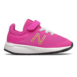 New Balance Infant's 455v2 - Peony / Bleached Lime Glo - Profile Pic