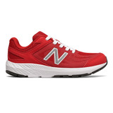 New Balance Kid's 519 v1 - Team Red / White - Profile