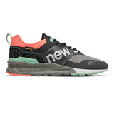 New Balance Men's 997H Spring Hike Trail - Magnet / Ginger Pink - Profile
