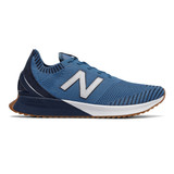 New Balance Men's FuelCell Echo - Mako Blue with Natural Indigo & White - Profile