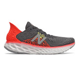 New Balance Men's Fresh Foam 1080V10 - Phantom with Neo Flame / Lemon Slush - Profile Pic