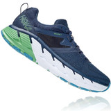 HOKA ONE ONE Men's Gaviota 2 (Wide Width) - Moonlit Ocean / Black Iris - 1099717-MOBI - Profile
