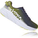 HOKA ONE ONE Men's Rincon 2 - Odyssey Grey / White - 1110514-OGWT - Angle