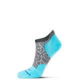 FITS Women's Ultra Light Runner (Swirl) - Coal / Scuba Blue - Profile