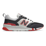 New Balance Men's 997H - Black / Team Red - Profile
