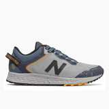 New Balance Kids Fresh Foam Arishi Trail - Light Aluminum / Stone - Profile
