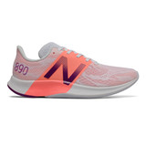 New Balance Women's FuelCell 890v8 - Moon Dust/Ginger Pink/Plum - Profile Pic