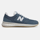 New Balance Men's Fresh Foam X-70 - Blue Stone / Munsell White - Profile