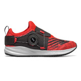 New Balance Kid's Fuel Core Reveal Boa - Neo Flame with Team Red & Black - Profile