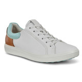 Women's Soft 7 Sneaker - White / Eggshall Blue / Lion - Angle