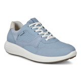 Ecco Women's Soft 7 Runner - Dusty Blue/ Shadow White - Profile Pic
