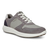 Ecco Soft 7 Runner - Titanium/Wild Dove/White/Navy - Profile Pic