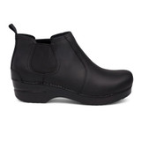 Dansko Women's Frankie - Black Oiled Leather - Profile