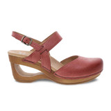 Dansko Women's Taci Sandal - Red Milled Burnished - 3413-221500 - Profile 1