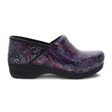 Dansko Women's XP 2.0 Clog - Engraved Floral Patent - 3950-960202 - Profile 1