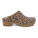Dansko Women's Brenda - Leopard Suede - 9420-561600 - Profile 1
