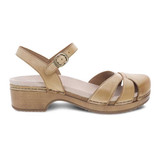 Dansko Women's Betsey - Tan Milled Nubuck - 9427-371600 - Profile 1