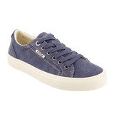 Taos Footwear Women's Plim Soul - Blue Washed Canvas - Angle