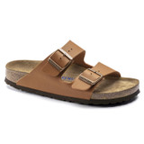 Birkenstock Arizona Soft Footbed - Ginger Brown (Narrow Width) - 1019119 - Angle