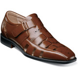 Stacy Adams Men's Calax Fisherman Sandal - Cognac - Angle