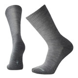 Smartwool Men's New Heathered Rib Socks - Gray - Dual