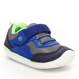 Stride Rite Soft Motion Rhett Sneaker - Navy / Lime - BB005601 - Image
