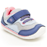Stride Rite Soft Motion Rhett Sneaker - Blue Multi - BG005603 - Angle