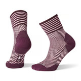 Smartwool Women's Herringbone Mini Boot Socks - Bordeax - Dual