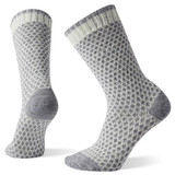 Smartwool Women's Popcorn Polka Dot Crew Socks - Natural - Dual