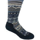 Smartwool Women's Dazzling Wonderland Crew Socks - Everglade - Profile