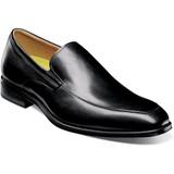 Florsheim Men's Amelio Moc Toe Slip-On - Black - 14266-001 - Profile