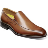 Florsheim Men's Amelio Moc Toe Slip-On - Cognac - 14266-221 - Profile