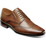 Florsheim Men's Postino Wingtip Oxford - Cognac - 15181-221 - Profile