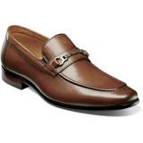 Florsheim Men's Postino Moc Toe Bit Slip-On - Cognac - 15184-221 - Profile