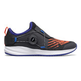 New Balance Kid's FuelCore Reveal. - Black / Marine Blue / Team Orange - Profile Pic