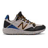 New Balance Kid's Fresh Foam Crag - Rain Cloud/Black/Team Royal - Profile Pic