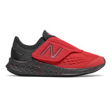 New Balance Kid's Fresh Foam Fast - Team Red with Black - Profile Pic