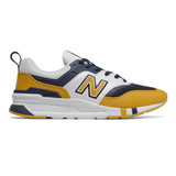 New Balance Men's 997H - Yellow / Navy - CM997HBY - Profile