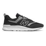 New Balance Men's 997H - Black / Grey  - CM997HFI - Profile
