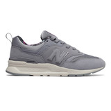 New Balance Women's 997H - Grey with Floral - CW997HXA - Profile
