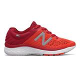 New Balance Kid's 860v9 Grade School Running - Crimson Red - Profile