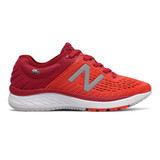 New Balance Kid's 860v9 Grade School Running - Crimson Red - Profile