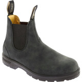 Blundstone Classic 550 Chelsea Boot - Rustic Black - M587 - Angle