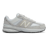 New Balance Kid's 990v5 - Nimbus Cloud with Silver Metallic - PC990NA5 - Profile