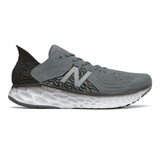 New Balance Men's Fresh Foam 1080v10 - Lead with Black - M1080C10 - Profile