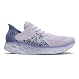 New Balance Women's Fresh Foam 1080v10 Running - Thistle with Magnetic Blue & Moon Dust - W1080H10 - Profile