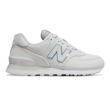 New Balance Women's 574v2 - Nimbus Cloud with White - WL574CLD - Aerial