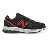 New Balance Kid's 888v2 - Black with Neo Flame - PK888BF2 - Profile