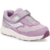 Saucony Toddler Ride 10 Jr - Pink Metallic - SL163407 - Profile